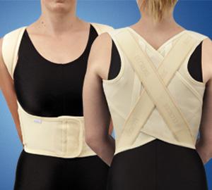 Supporto elastico regolabile per spalle
