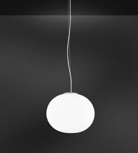 Lampadario vetro MAGIA bianco 1xE27 | LED