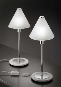 Abajour MODI' LED vetro satinato | E14