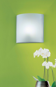 Applique o plafoniera in vetro NUMEA LED 45x45