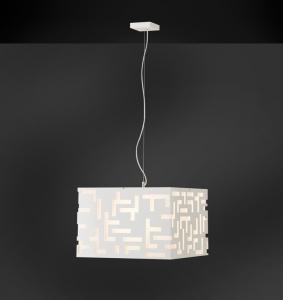 MANHATTAN 50 sospensione moderna bianco |LED