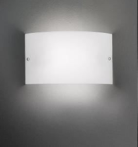 Applique VELINA LED vetro bianco 30x17 |10 watt