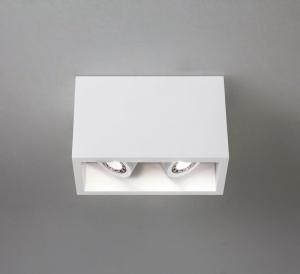 OSCA TWIN LED faretto doppio orientabile