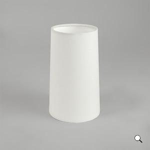 CONO 195 paralume conico bianco