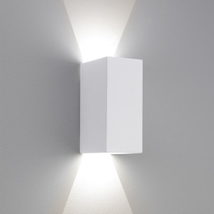 PARMA 210 LED applique in gesso verniciabile