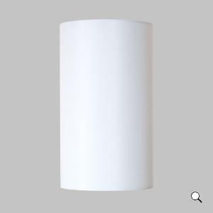 TUBE 120 paralume tubolare bianco