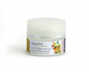 Crema contorno occhi elasticizzante 30 ml - Linea Flowers and Fruits - (Vegan ok, no Parabeni, no PEG)