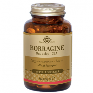 BORRAGINE ONE A DAY INTEGRATORE ALIMENTARE A BASE DI OLIO DI BORRAGINE