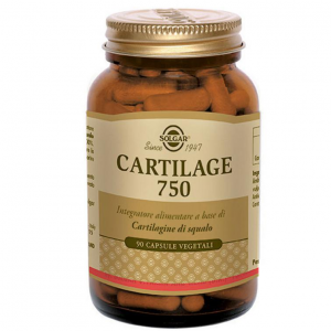 CARTILAGE 750 INTEGRATORE ALIMENTARE SOLGAR A BASE DI CARTILAGINE DI SQUALO PURA AL 100%