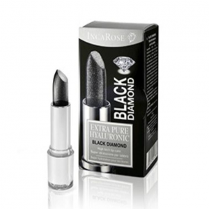 INCAROSE BLACK DIAMOND ROSSETTO NERO DIAMANTATO CON ACIDO IALURONICO
