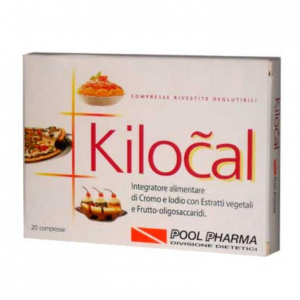 KILOCAL 20CPR - INTEGRATORE ALIMENTARE A BASE DI CROMO IODIO