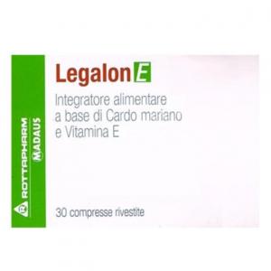 LEGALON E 30 CPR  INTEGRATORE ALIMENTARE A BASE DI CARDO MARIANO E VITAMINA E