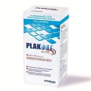 PLAKOUT CLOREXIDINA 0,12% COLLUTORIO -  TRATTAMENTO ANTIPLACCA PROLUNGATO