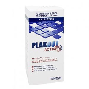 PLAKOUT CLOREXIDINA 0,20%  COLLUTORIO - TRATTAMENTO INTENSIVO ANTIPLACCA