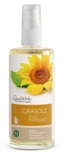Olio di Girasole purissimo 100 ml (Vegan Ok)