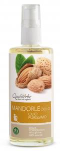 Olio di Mandorle dolci purissimo 100 ml (Vegan Ok)