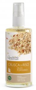 Olio di Crusca di Riso purissimo 100 ml (Vegan Ok)