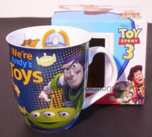Toy Story Woody Buzz Alien tazza cacao Disney