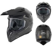 Casco stealth hd210 per cross enduro motard quad in carbonio 100% tg m