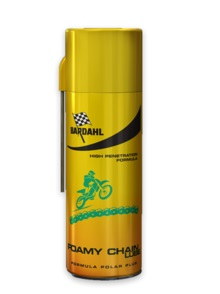 Bardahl foamy chain lube lubrificante spray per catene