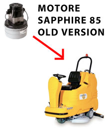 Sapphire 85 36 volt (OLD) Motore AMETEK aspirazione lavapavimenti Adiatek