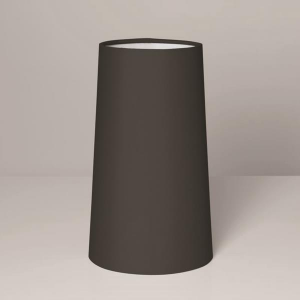 CONO 240 paralume tessuto cono nero
