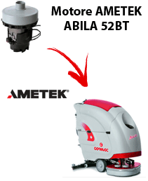 ABILA 52BT MOTORE AMETEK  aspirazione lavapavimenti Comac