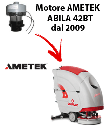 ABILA 42BT MOTORE AMETEK  (dal 2009) aspirazione lavapavimenti Comac