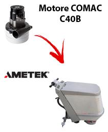 C40B  MOTORE AMETEK aspirazione lavapavimenti Comac