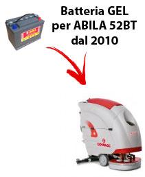 BATTERIA per ABILA 52BT lavapavimenti COMAC DAL 2010