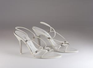 Scarpa donna elegante da sposa e cerimonia Francesco Art. 5450 051/90ASTR