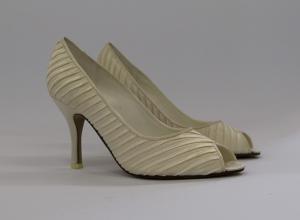 Scarpa elegante cerimonia donna e sposa in tessuto Scheilan Art.SC091/s