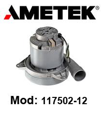 Motore Aspirazione 117502-12 AMETEK per lavapavimenti e aspira polvere