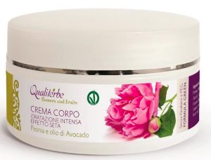 FORMULA GREEN Crema Corpo Effetto Seta 250 ml - Flowers and Fruits - (Vegan ok, no Parabeni, no PEG)