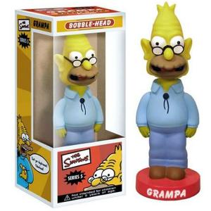Simpson Grandpa Nonno bobble head figure 15 cm Funko serie 5