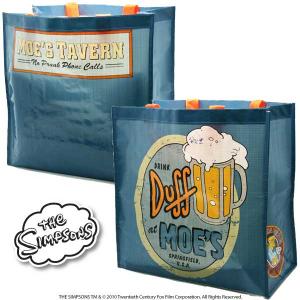 Simpson Moe's Duff borsa spesa PVC