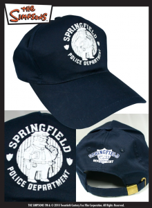 Simpson Springfield Police Department cappellino baseball adulto