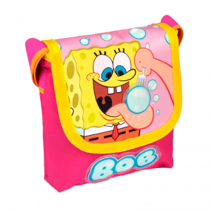 Spongebob borsa tracolla bambina rosa