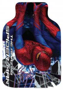 Spiderman 4 the Movie bottiglia acqua calda scaldaletto peluche velcro