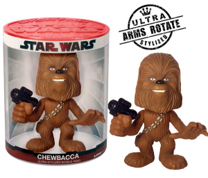 Star Wars Chewbacca bobble head figure 15 cm Funko Force
