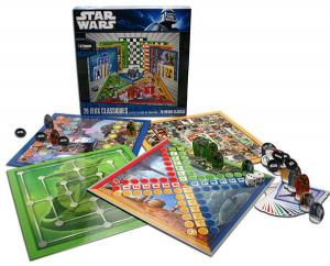 Star Wars scacchiera con 20 giochi in francese