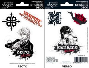 Vampire Knight Zero Kaname mini stickers 16 x 11 cm
