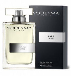 Yodeyma KARA MEN Eau de Parfum 100ml (Light Blue) Profumo Uomo