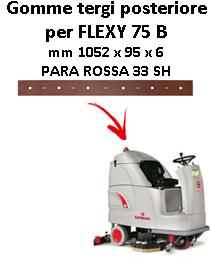 Gomma tergi posteriore per lavapavimenti COMAC FLEXY 75 B