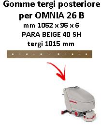 Gomma tergi posteriore per lavapavimenti COMAC OMNIA 26 B