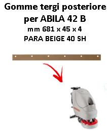 ABILA 42 B GOMMA TERGI posteriore Comac