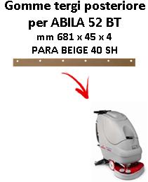 ABILA 52 BT GOMMA TERGI posteriore Comac
