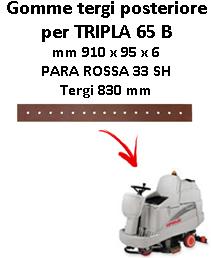 Gomma tergi posteriore per lavapavimenti COMAC - TRIPLA 65 B