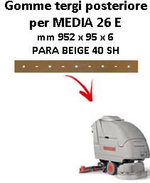 Gomma tergi posteriore per lavapavimenti COMAC MEDIA 26 E