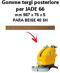Gomma tergi posteriore per lavapavimenti ADIATEK JADE 66